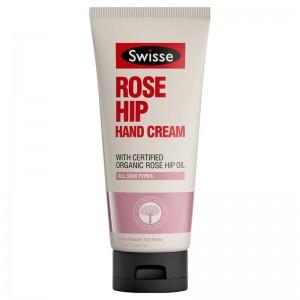 Swisse 玫瑰果护手霜滋润保湿锁水亮白嫩滑100ml
