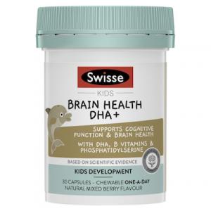 Swisse Kids Brain Health DHA + 30 Caps