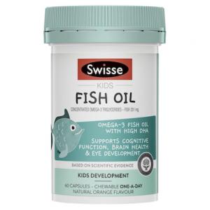 Swisse Kids Fish Oil 60 Caps