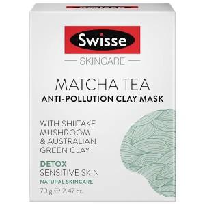 Swisse 抹茶面膜 深层清洁舒缓肌肤小绿泥面膜70g