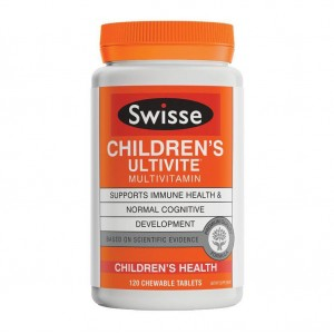 Swisse Children Ultivite Multivitamin 120 Caps