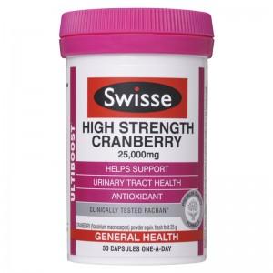 Swisse 高浓度蔓越莓胶囊 30粒