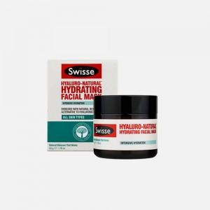 Swisse 玻尿酸补水面膜保湿收缩毛孔修复睡眠泥膜 50g