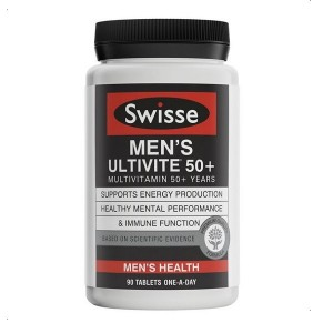 Swisse Men's Ultivite 50+ 90 Caps