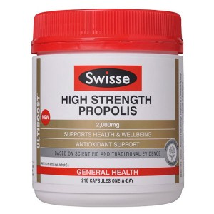 Swisse High Strength Propolis 2000mg 210 Caps
