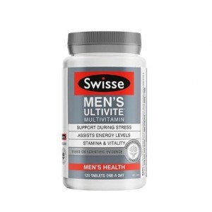 Swisse Men's Ultivite 120 Caps
