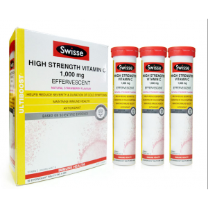 Swisse High Strength Vitamin C Effervescent 60 Caps