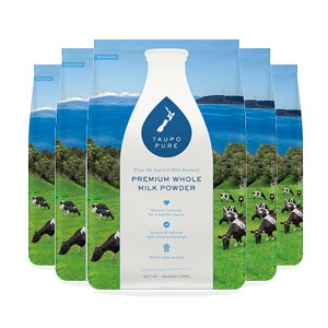 Taupo Pure Premium Whole Milk Powder 1kg*6pack