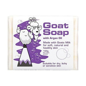 The Goat 纯天然羊奶皂含摩洛哥坚果油皂 延缓皮肤衰老 100g