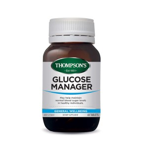 Thompsons Glucose Manager 60 Caps
