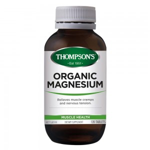 Thompsons Organic Magnesium 120 Caps