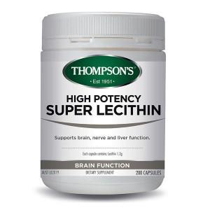 Thompsons super lecithin 200 Caps