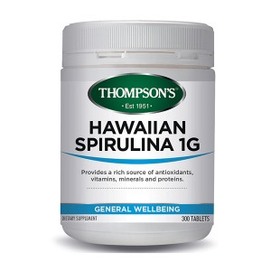 Thompsons Hawaiian Spirulina 1000mg 300 Caps