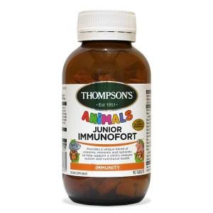Thompsons 汤普森儿童综合维生素免疫90片