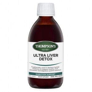 Thompson's Ultra Liver Detox 300ml
