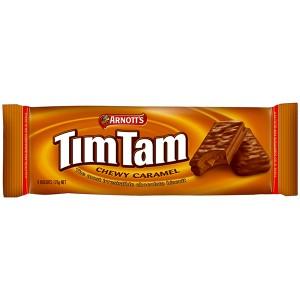 Tim Tam 黏焦糖巧克力饼干 175g