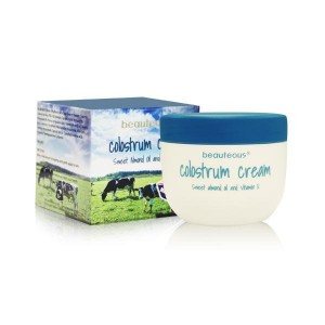 Beauteous NZ Colostrum Cream with Genuine New Zealand Colostrum, Sweet Almond Oil and Vitamin E 100g