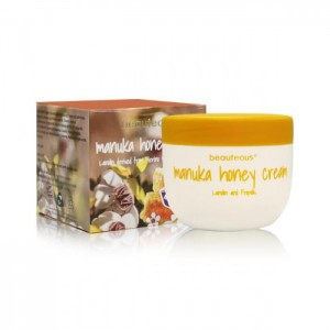 Beauteous Manuka Honey Cream 100g   Lanolin derived from Merino Sheep and Propolis.