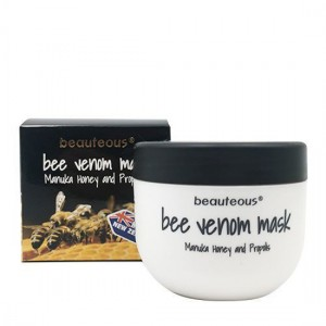 Beauteous Bee Venom Cream with New Zealand Bee Venom, Manuka Honey and Propolis 100g