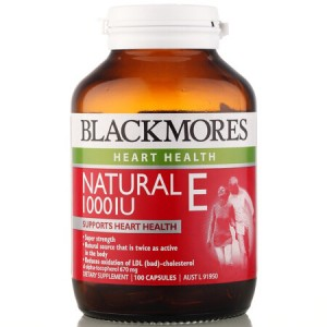 Blackmores Natural E 1000IU 100 Caps