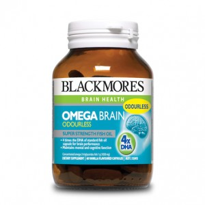 Blackmores Omega Brain High DHA Fish Oil 60 Caps