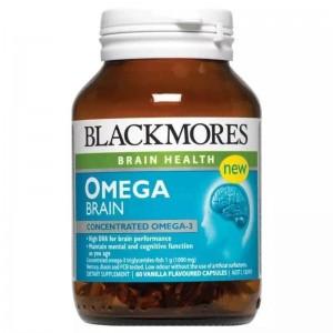 Blackmores Omega Brain High DHA Fish Oil 60 Caps
