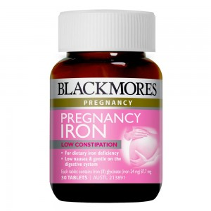 Blackmores Pregnancy Iron 30 Caps