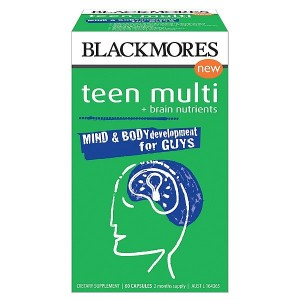 Blackmores Multivitamin for Teen Boys 60 Caps