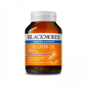 Blackmores Cod Liver Oil 1000mg 80 Caps