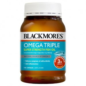 Blackmores Omega Triple Super Strength Fish Oil 150 Caps