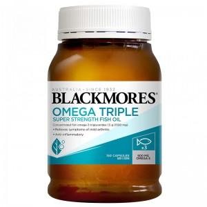 Blackmores Omega Triple Super Strength Fish Oil 150 Caps