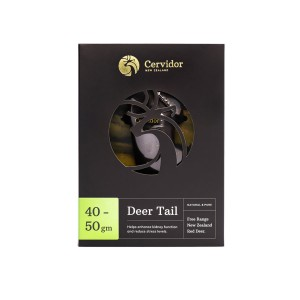 Cervidor Whole Dried Deer Tail 40g-50g