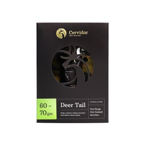 Cervidor Whole Dried Deer Tail 60-70g