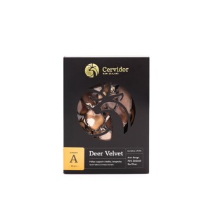 Cervidor Dried Deer Velvet Slices A Grade 38g