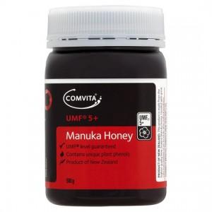【买三瓶=包邮】Comvita 康维他UMF5 活性麦卢卡保健蜂蜜 500g