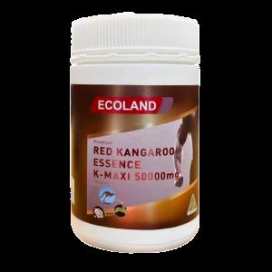 ecoland 加强版袋鼠精胶囊成人男性提高精力调理肾活力 100粒