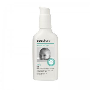 ecostore婴儿按摩油宝宝新生儿专用护肤润肤125ml
