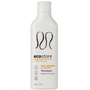 ecostore干燥烫染受损发质 洗发水 护发素220ml 卷发修复无硅