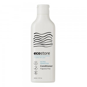 ecostore无香低敏 洗发水 护发素 220ml孕妇可用天然无硅油抗过敏