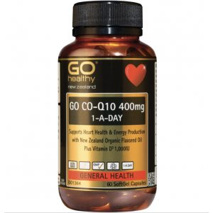 Go Healthy Go CO Q10 400mg 60 Caps