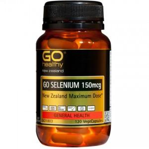 Go Healthy Go Selenium 150mcg 120 Caps