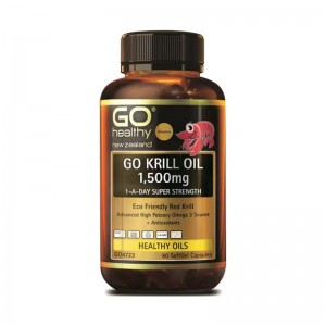 GO healthy Krill Oil 1500mg 60 Caps