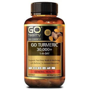 GO Healthy Go Turmeric 30,000+ 1-A-Day 60 Caps