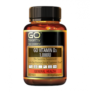 GO Healthy Vitamin D3 1000IU 90 Caps