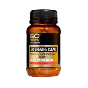 Go healthy Go Breathe Clear 60 Caps