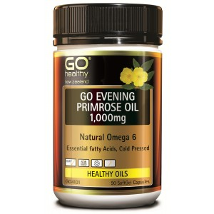 Go healthy Go Evening Primrose Oil 1,000mg 90 Caps