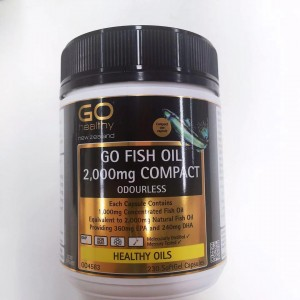 Go healthy Go Fish Oil 2,000mg 230 Caps