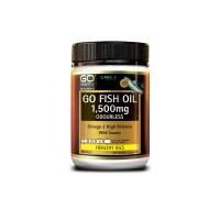 Go healthy Go Fish Oil 1,500mg Odourless 210 Caps