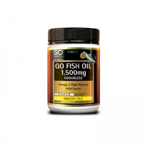 Go healthy Go Fish Oil 1,500mg Odourless 210 Caps