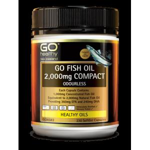 Go healthy Go Fish Oil 2,000mg 230 Caps